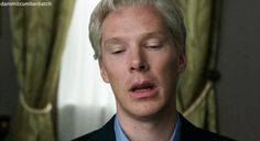 Benedict Cumberbatch, Julian Assange, The Fifth Estate - OMG, when I saw this in the movie... I litteraly melt.