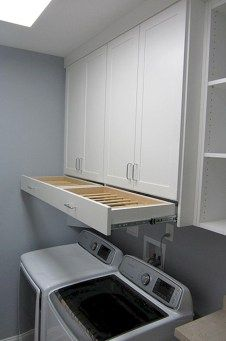 Awesome Laundry Room Storage Organization Ideas 40