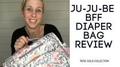Baby gear expert Julie McCaffrey from BabyNav does a full review of the Ju-Ju-Be BFF Diaper Bag in Sakura Swirl from the new rose gold collection.