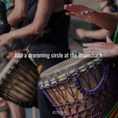 Unite through a common beat of the Djembe drum at the Drumshack Djembe Drum, Stuff To Do, Things To Do, Music Magazines, Music Quotes, Drums, Beats, Connection, Music Instruments