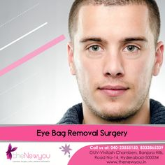 Bring out the #beauty of your eyes by removing under #eyebags with the #EyebagRemovalSurgery from theNewyou.