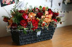 꽃바구니(Flower Basket)_[플라워스쿨,루시안]프라이빗플라워레슨 :: 네이버 블로그
