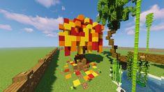 Minecraft Autumn Custom Tree
