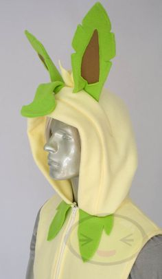 Leafeon Vest Costume Pokemon. $136.99, via Etsy.
