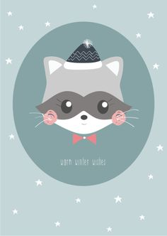Petite Louise 'Kaart Winter Wishes'