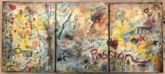 Collective,Interactive Encaustic Project, Boulder Open Studios 2017 Bouldering, Vintage World Maps, Studios, My Arts, Projects, Tile Projects