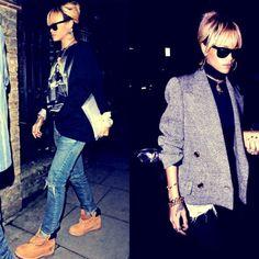 Rihanna Fashion! No words to express:)@Ashley Walters Connolly