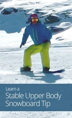 Going snowboard this season? This lesson is a perfect refresher on proper form and control! more snowboarding tips @ https://www.facebook.com/Snowboard-Equipment-174997816033563