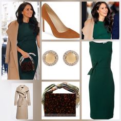 ⠀ Meghans look for the annual WellChild Awards 🤩:⠀ Dress ? Meghan Markle Outfits, Meghan Markle Style, Fashion Boards, Riveting, Harry And Meghan, Prince Harry, Archie, Kate Middleton, Royals