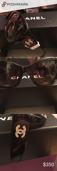3133ecc03a22 Chanel Tortoise Classic Sunglasses Chanel Tortoise Classic Sunglasses  Chanel Accessories Sunglasses Chanel Sunglasses