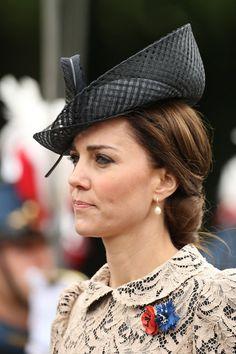 Duchess of Cambridge wearing a Philip Treacy hat