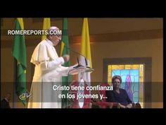 El Papa a jóvenes: Id más allá de los confines de lo que es humanamente posible