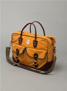 Couverture and The Garbstore Mens South2West8 Sunforger La Crosse Briefcase