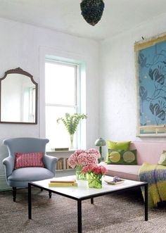 Hot Pink Living Room | ... room or even a splash of hot pink here or there to highlight some