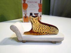 CARTIER rare Abraham Palatnik Mint  Lucite Leopard by welovelucite, $269.00