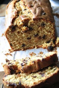 Cake au beurre de cacahuètes et pépites de chocolat