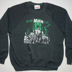 A personal favorite from my Etsy shop https://www.etsy.com/listing/466762080/vintage-misfits-crew-neck-sweat-read