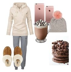 """Watching snowflakes fall"" by owls165 ❤ liked on Polyvore featuring Voi Jeans and UGG Australia"