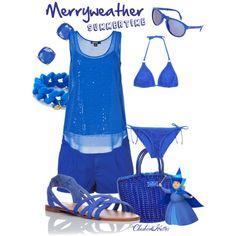 """Merryweather Summertime"" by cheshirehatter on Polyvore"