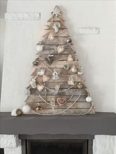 Sapin de Noël en palettes