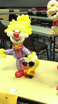 Clown Balloon Clown Balloons, Clown Party, Balloon Decorations, Home Decor, Decoration Home, Room Decor, Interior Decorating