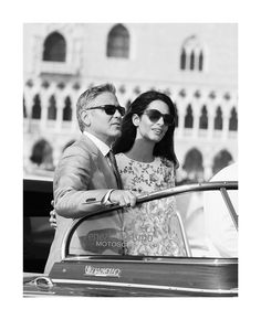"""Amal and George Clooney have been on-the-go all summer long. Between glamorous red carpet appearances in Cannes, to meeting the Pope (NBD) when they were honored for their charity work, to """" causal"""" date nights, they've been jet-setting around Europe in style all season. But she saved the best for her"""