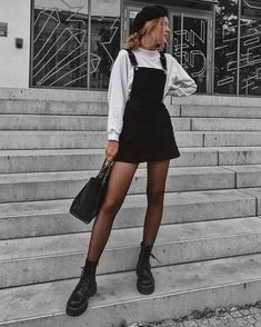 🥳bustier outfit,addidas outfit,beauty emails,plad o. - Grunge outfits men - Source by outfits invierno Plad Outfits, Mode Outfits, Cute Casual Outfits, Outfits With Boots, Edgy Fall Outfits, Combat Boot Outfits, Black Boots Outfit, Layered Outfits, Fall Outfit Ideas