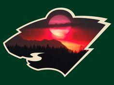 Minnesota Wild Hockey, Wild North, Wild Logo, Hockey Logos, National Hockey League, Nhl, Vikings, Iphone Wallpaper, Infographics