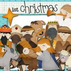 Retell the story of the first Christmas with this unique set which includes the following handmade digital felt art figures: Manger, Mary, Joseph, ...