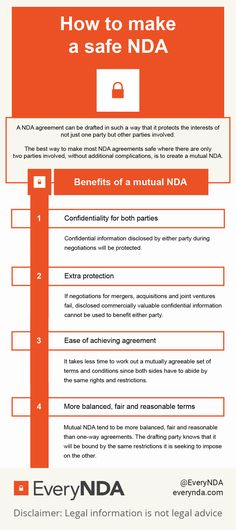 Whatu0027s the difference between a Unilateral (one-way) NDA agreement - mutual confidentiality agreements