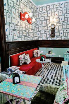 Vintage, casa de chá, Monção