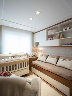 DORMITÓRIO BEBÊ 01: Quarto de crianças  por Pura!Arquitetura