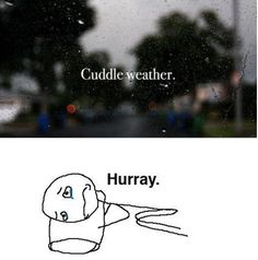 Cuddle Weather Again