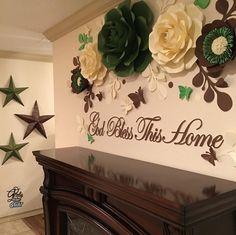 45 отметок «Нравится», 2 комментариев — Paper Flowers By Val (@partygraphicstudio) в Instagram: «#paperflowers Home Decor ... »