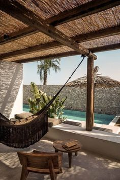 Casa Cook Kos: A Relaxing Beachside Hotel on a Greek Island (Gravity Home) Design Exterior, Interior And Exterior, Room Interior, Outdoor Spaces, Outdoor Living, Outdoor Decor, Outdoor Lounge, Casa Cook Hotel, Kos Hotel