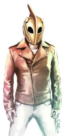 Quiero éste Outfit para viernes casual - The Rocketeer Comic Book Artists, Comic Book Characters, Comic Books Art, Comic Art, Superman, Batman, Pulp Fiction, Science Fiction, Viernes Casual