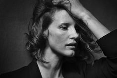 Jessica Chastain for Pirelli 2017 Calendar by Peter Lindbergh