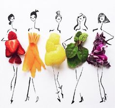 A jacket potato sure can be fashionable, but we only just discovered that other fruits and vegetables also boast some great looking dresses… And oh my do they look cute!