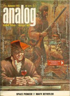 vintage everyday: Analog Science Fiction Magazine 1960s