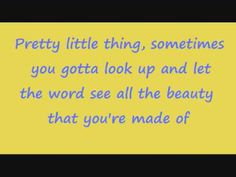 Virgina Bluebell by Miranda Lambert (lyrics).  Feeling Insecure?  This is the song for u