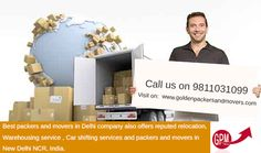 movers and packers introduced an easy and quick moving guide for its users that not only helps them find out a reliable moving company but also allows them choose from amongst the top movers and packers in delhi. for more info: - http://goldenpackersandmovers.com/movers_and_packers_india.html and our helpline no: - +91 9811031099 +91 11-27670837, +91 11-27670838