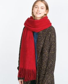 Image 2 of SOFT SCARF from Zara