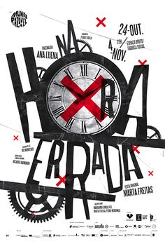 Na Hora Errada (In the Wrong Time) poster.#graphic #poster
