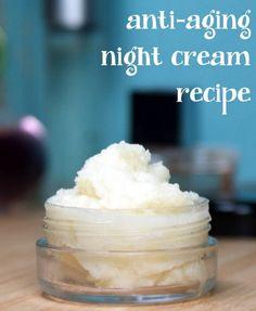 Anti-Aging Night Cream Recipe   Improved Aging