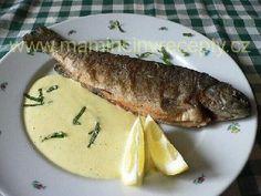 Pstruh s jogurtovou pěnou Trout, Salmon, Steak, Fish, Eating Clean, Brown Trout, Pisces, Steaks, Atlantic Salmon