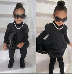 Little Girl Fashion, Toddler Fashion, Kids Fashion, Fashion Women, Latest Fashion, Fashion Design, Fashion Trends, Kid Swag, Baby Swag