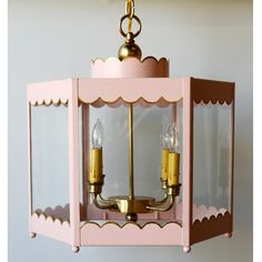 THE SCALLOPED LANTERN | Coleen and Company