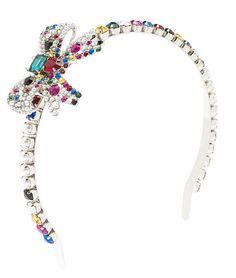 Miu Miu rhinestone headband