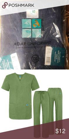 a68980dbf6c Adar Medical Unisex Scrubs Adar Medical Navy XXS Unisex Medical Scrubs set  Brand new in plastic