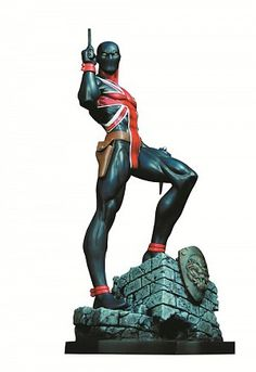 Union Jack Statue